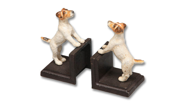 Cast Iron Terrier Bookends