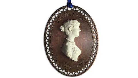 Jane Austen Hanging Decoration - front