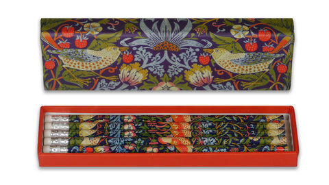 "William Morris ""Strawberry Thief"" Pencils"