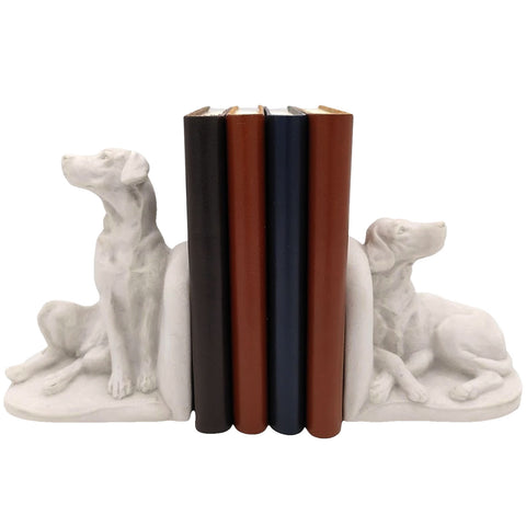Marble Dog Bookends with A6 journals