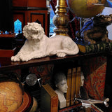 Marble Tiger Statue on shelf