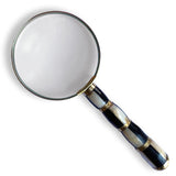 Mother Of Pearl Magnifying Glass