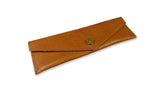 Slim Swedish Pencil Case - Tan