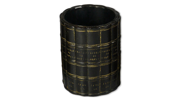 Round Pen Pot - black