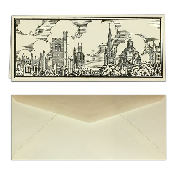 Oxford Skyline Card & Envelope