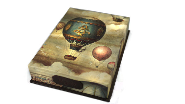 Greetings Cards Presented in a Beautiful Box - Hot Air Balloons
