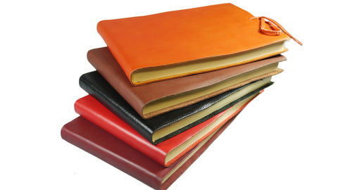 Il Papiro Italian Leather Sketchbook from Scriptum Oxford