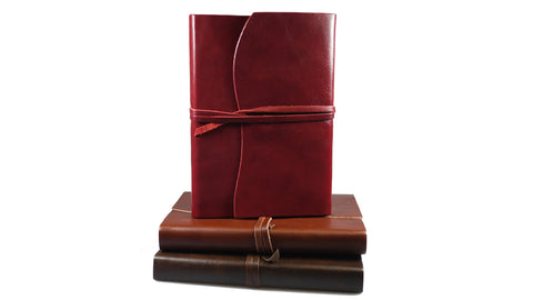 Roma Italian Leather Journal from Scriptum Oxford