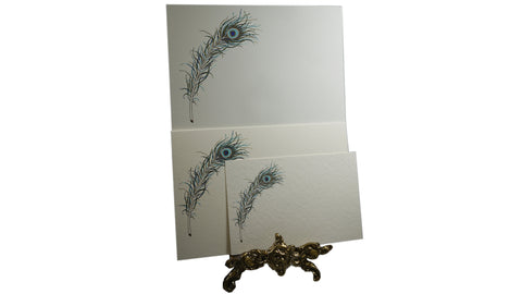 Peacock Feather Italian Paper from Scriptum