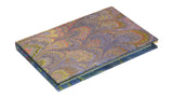 Pocket Marbled Paper Address Book - purple