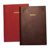 Pocket Leather Wine Journal