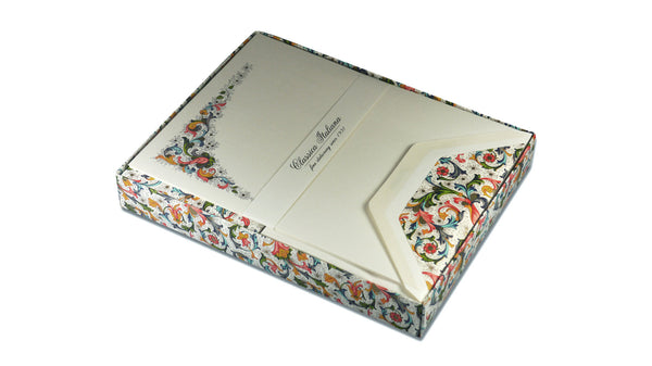 Florentine Writing Paper - Classic Florentine, A5 Paper Boxed