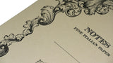 Italian Letterpressed Notebook - cream