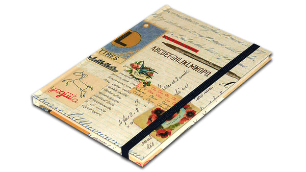 A5 Paperbound Italian Notebook - Letter-Writing