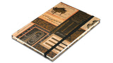 A5 Paperbound Italian Notebook - Musical Instruments