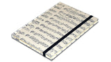 A5 Paperbound Italian Notebook - Vivaldi Music Score