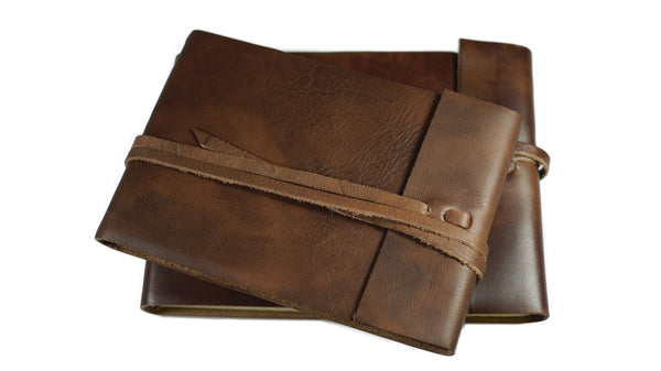 Italian Leather Sketchbook from Scriptum
