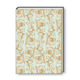 A4 Paperbound Italian Notebook - Floral Flourishes
