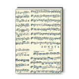 A4 Paperbound Italian Notebook - Vivaldi Music Score