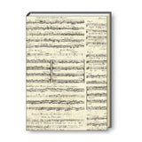 A4 Paperbound Italian Notebook - Old Music Score