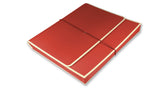 Accordion folder - red