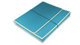 Accordion folder - turquoise
