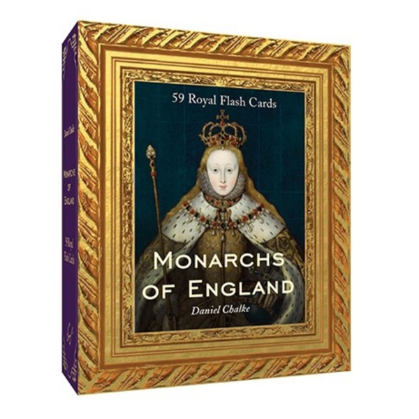 Monarchs of England; 59 Royal Flash Cards