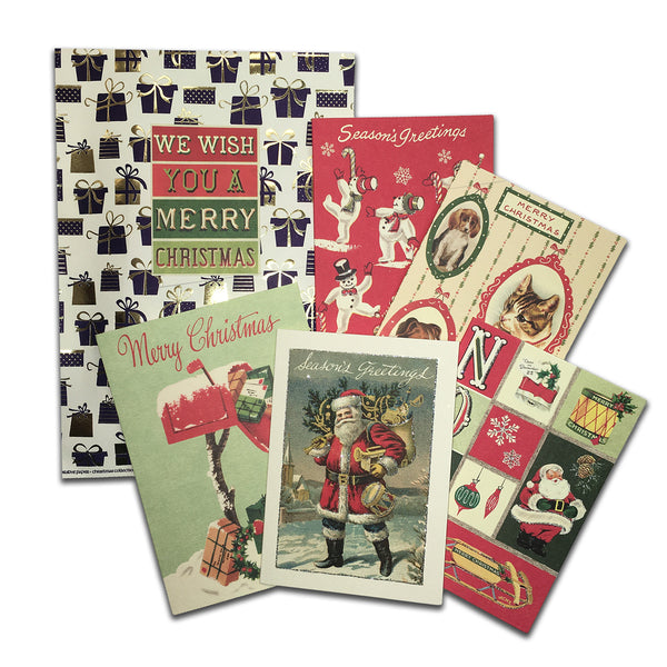Scriptum Christmas Card Set - 5 Cards & 5 Envelopes