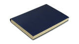 Simple Leather Journal - dark blue, large