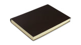 Simple Leather Journal - dark brown, large