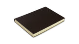 Simple Leather Journal - dark brown, medium