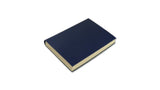 Simple Leather Journal - dark blue, small