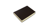 Simple Leather Journal - dark brown, small