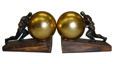 Sisyphus Bookends