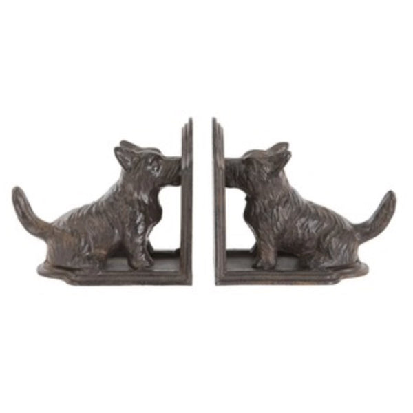 Terrier Bookends