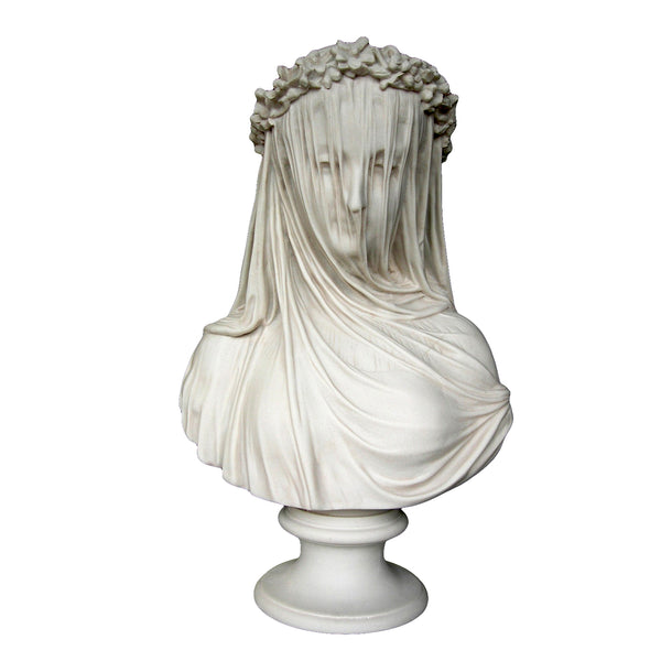 Marble Bust of a Veiled Vestal