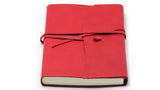 Italian Leather Journal - Amalfi with Wrap. Can be personalised.