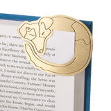 Curled Up Corners Bookmark