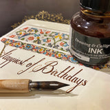 Bottled Calligraphy Ink
