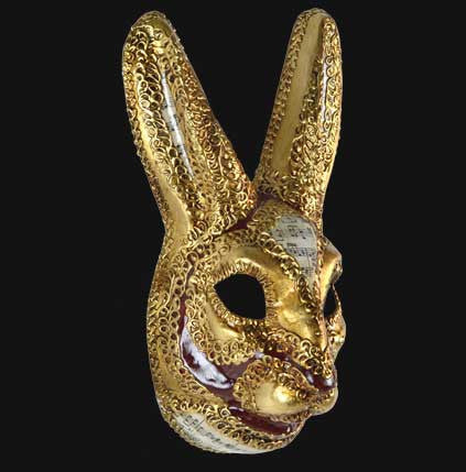 Rabbit Venetian Mask