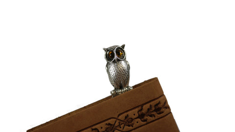 Silver Owl Bookmark