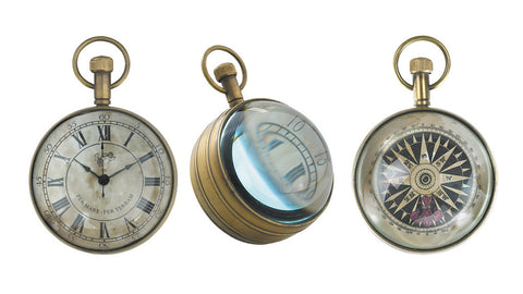 Clock - Antique style spherical clock