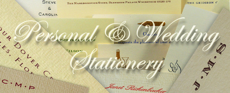 Personal and Wedding Stationery