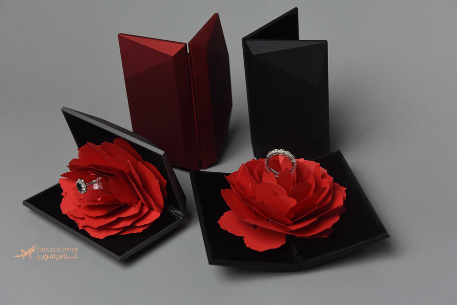Simply Red Ring Box