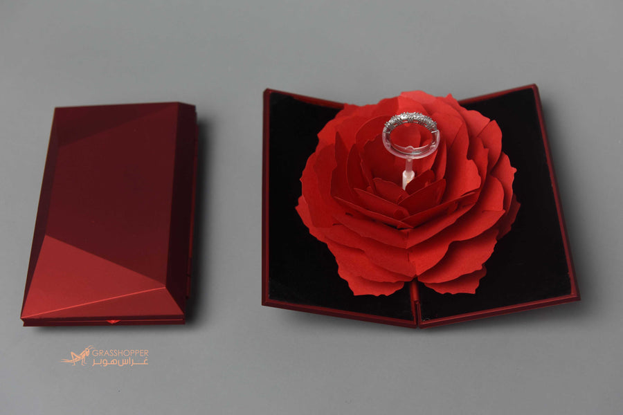 Simply Red Ring Box | Grasshopper