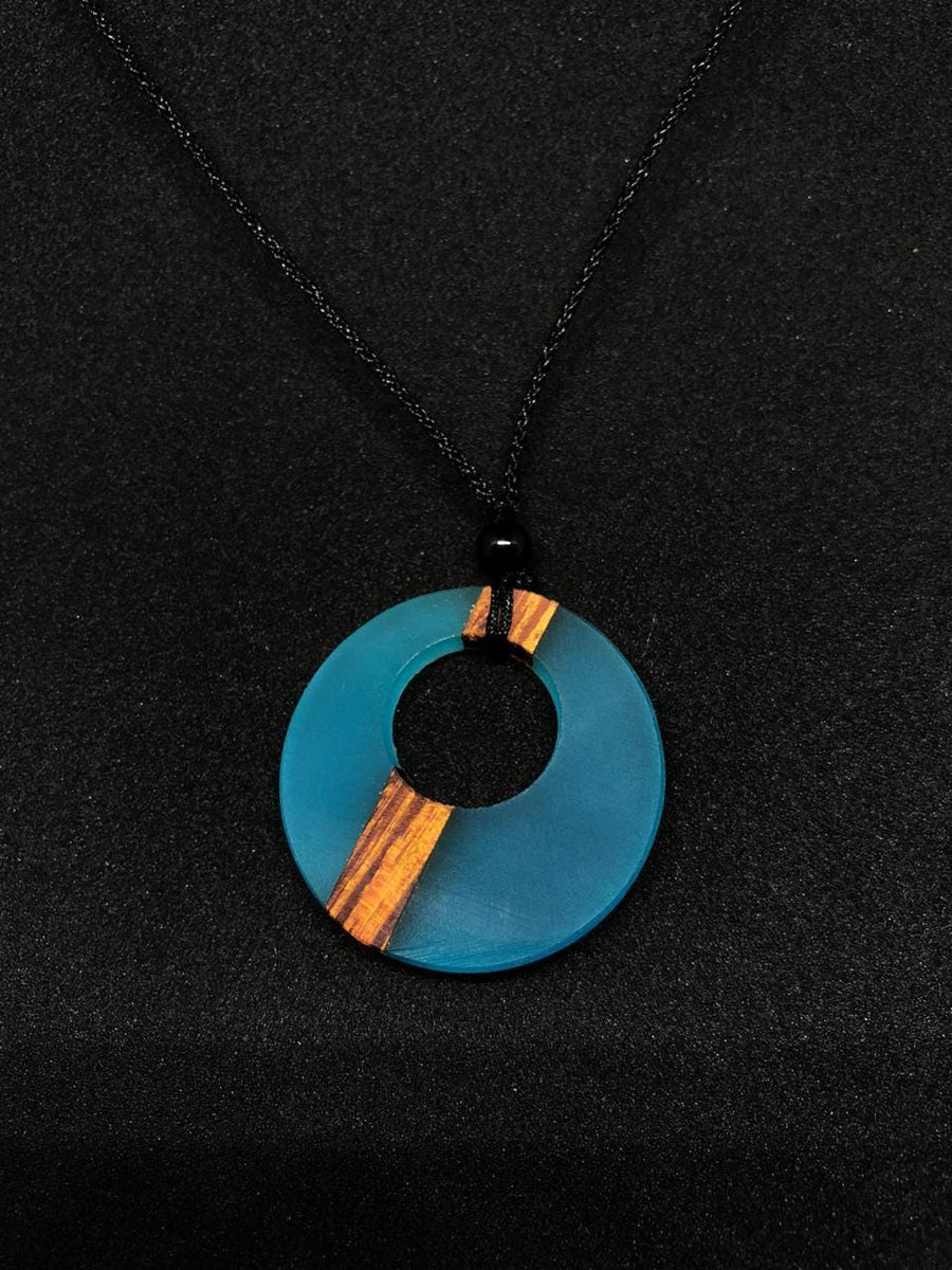 Blue Rezen Necklace