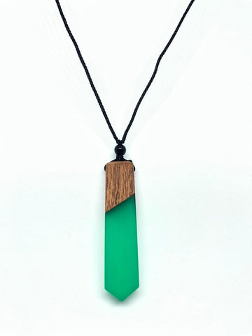 Green Rezn necklace