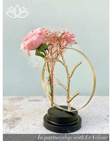 Gold Branches Vase