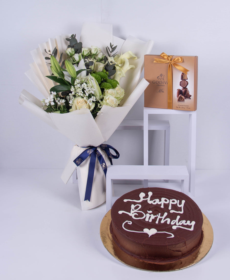 Whites Chocolate & Cake Set