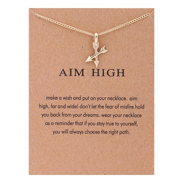 Aim High Necklace